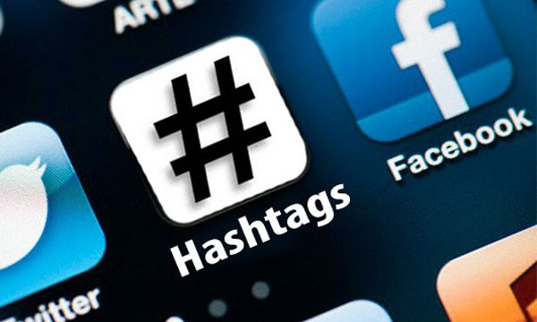 Hashtags # on twitter