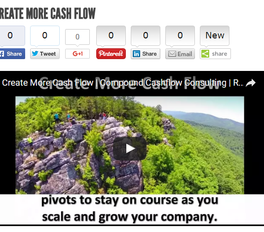 Create More Cash Flow