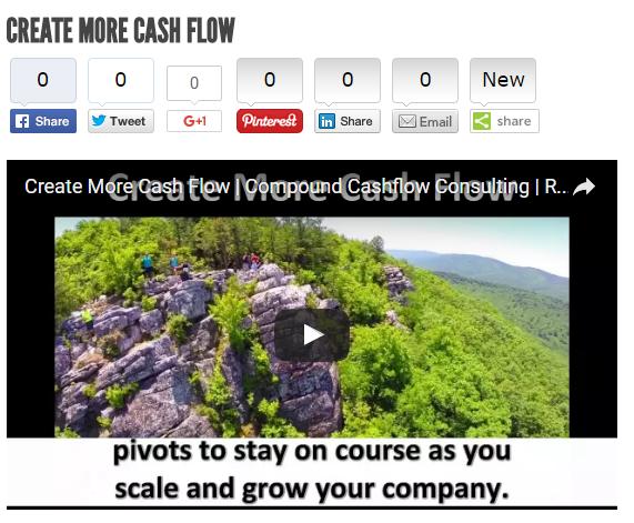Create More Cash Flow