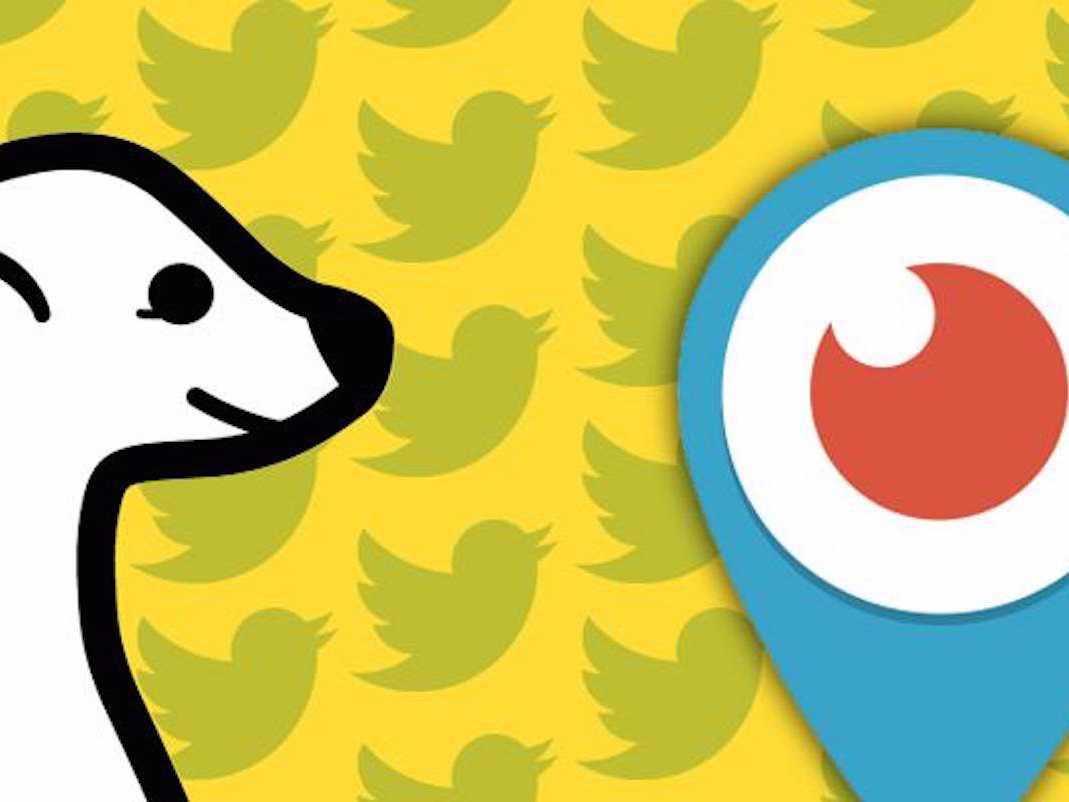 Meerkat Periscope Twitter