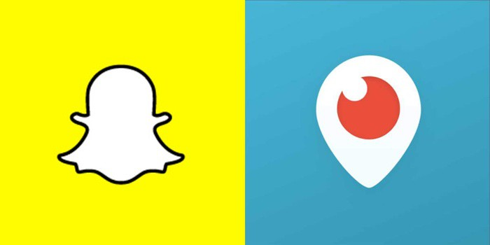 snapchat vs. periscope