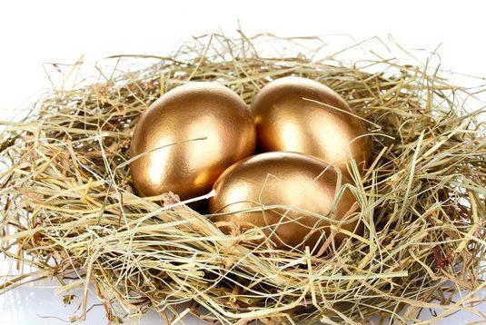 Golden goose, vs golden egg