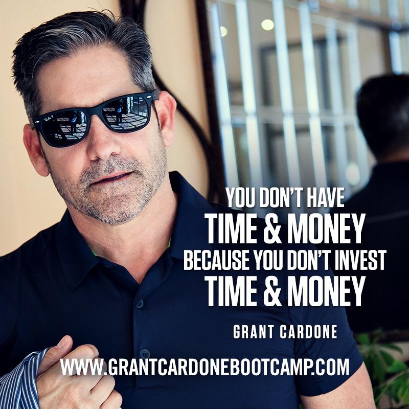 Grant Cardone Marketing Alignment